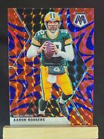 2020 MOSAIC AARON RODGERS REACTIVE BLUE PRIZM GREEN BAY PACKERS 🏈🔥