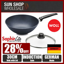 Genuine! WOLL Saphir Lite Induction Wok 30cm with Lid! Made in Germany! RRP $320