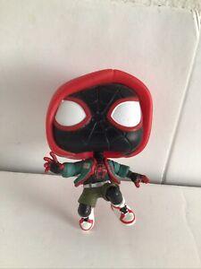 Funko Pop Spider-Man Into Spider-Verse Miles Morales 529 PX Exclusive No Stand