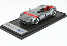 1:43 Ferrari Monza SP1 Titanium Silver and red StripeBBR DMC new CAR60