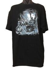 New Death Rider Grim Reaper Big Size Skull T-Shirt - Fits AUSTRALIAN 3XL