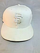 59Fifty Francisco SF Giants GAME 59Fifty Fitted Hat White MLB Cap Size 7 1/8