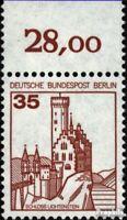 Berlin (West) 673A Oberrandstück gestempelt 1982 Burgen und Schlösser