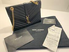 Yves Saint Laurent Tasche Envelope Medium schwarz NP 1.990€ - wie neu