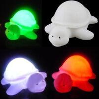 LED Nachtlicht Farben Ändern Schildkröte Lampe Party Weihnachtsdekoration Kinder