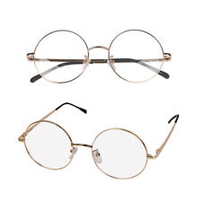 Round Spectacles Eyeglass Frames Metal Vintage Rx Optical Glasses Men Women I600