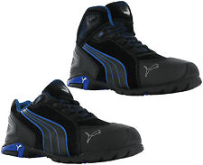 PUMA Rio Mid Safety Work BOOTS Black 632250 Sizes 6-12 S3 Toecap   Midsole edb160a97