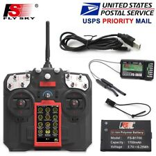 Flysky FS I8 Transmitter FS IA6B Receiver For fixed-wing Glider Helicopter New