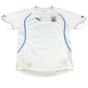 AUF Uruguay National Team Uruguayan Football Association Jersey, Large White USP