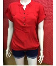 CHIFFON BLOUSE EO Red