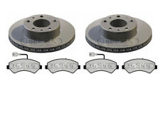 PEUGEOT BOXER 1700KG VAN BRAKE DISCS AND PADS - 300MM MUST READ DESCRIPTION