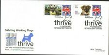 8/2/2008 SALUTING WORKING DOGS- SMILERS SHEETS STAMPS / LABELS VERY RARE FDC