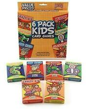 6 Pack Classic Kids Card Games (From the Makers of Bicycle)
