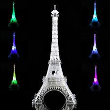 New Romantic Eiffel Tower Table LED Night Light Desk Wedding Bedroom Decor Lamp