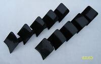 Car Wiper 5 Fin Aerofoil Black Windscreen Wiper Fins BRAND NEW