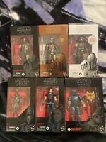 The Mandalorian Black Series Figure Collection W/ Carbonized & First Edition