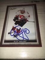 Alex Tanguay Calgary Flames Signed 2006 Beehive Card COA