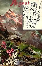 "Edelweiss, mondo di montagna, mensili AK ""agosto"", 1900"