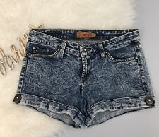 Parkers Jeans PJ Distressed Blue Women's Shorts Size M