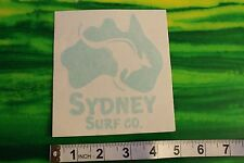 New listing Sydney Surf Co Australia Kangaroo Window Small High End Vintage Surfing Sticker