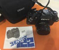 Zenith 122 camera VINTAGE USSR ,lens HELIOS 44М-6