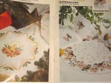 Zweigart Oktav & Stella Center Tablecloths Cross Stitch Booklet #5399/816-Flower