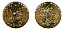 Hyères, 1 euro, 1997 - Euros temporaires des villes