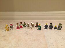 Lego Set 6703 Space Minifigures Futuron Blacktron Rare Vintage 80s Lot Of 14