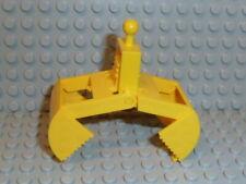 1x Lego Bagger Schaufel gelb mit Feder Kran Greifarm 6678 7243 3492c01