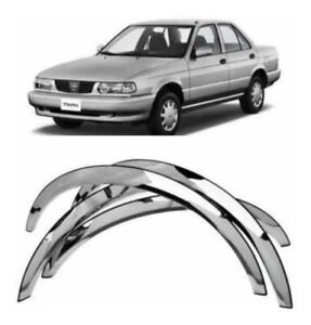FOR NISSAN SENTRA 91-94, SUNNY , SUPER SALOON B13 Chrome Fender Trim