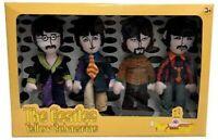 Beatles Yellow Submarine Band Member Plush Box Set Factory Entertainment - New