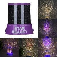 Romantic LED Starry Night Sky Projector Lamp Kids Gift Star Light Cosmos