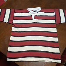 Polyester/Cotton Blend Rugby Striped Practice Jerseys Size 42 (L)