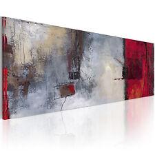 100% Handgemalt – Gemälde / Bilder Leinwand 1 Teilig Abstrakt 120x50 93254_MK