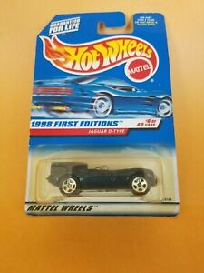Hot Wheels 1998 First Editions #6 Jaguar D-Type - New In Box