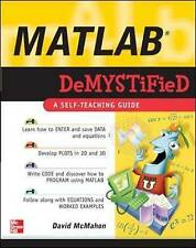 MATLAB Demystified by McMahon, David (Paperback book, 2007)