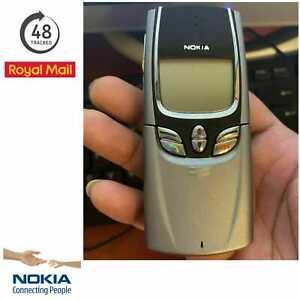 NEW Nokia 8850 -Metallic Silver (Unlocked) Mobile Phone Handset Only