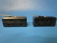 LOT OF 2 Micro Switch BZ-2RL Limit Switch (Honeywell)