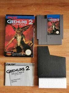 Nintendo NES Jeu Gremlins 2 The New Batch + Notice + Boite