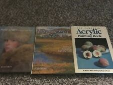 Lot Of 3 Art Instructional Books Lot 1