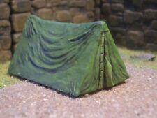 Set of 3 Tents Thomarillion Unpainted Resin Miniature Terrain Dwarven Forge D&D