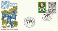 UNITED NATIONS 1980 35th ANNIVERSARY FIRST DAY COVER VIENNA SHS