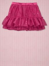 NWT New Baby Gap Girl Tulle Tutu Hearts Skirt Pink 3T