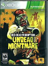 RED DEAD REDEMPTION: UNDEAD NIGHTMARE  (PH) (XBOX 360, 2010) (9329)   SHIPS FREE