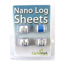 Geocaching 4 wasserfeste Logstreifen für Nano Cache / Rite in the Rain Logbuch