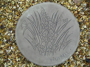 BLUEBELL STEPPING STONE garden ornament  /  other design's in my shop