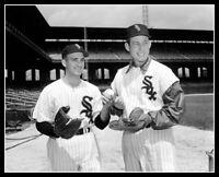 Sherm Lollar Billy Pierce Photo 8X10 - Chicago White Sox 1959 Go Go Comiskey