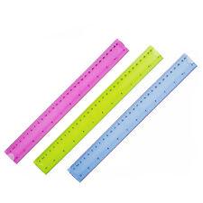 Flexible Bendy Ruler 12 Inch Measuring Rule School Work Stationery Office Gift