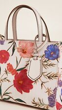 KATE SPADE FLORAL LEATHER TRIM HANDBAG TOTE SHOULDER MULTIWAY BAG RRP $298 NEW!