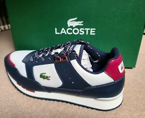 Lacoste Brand Partner Piste 0121 3 Men's Fashion Casual  Shoes Sneakers O White